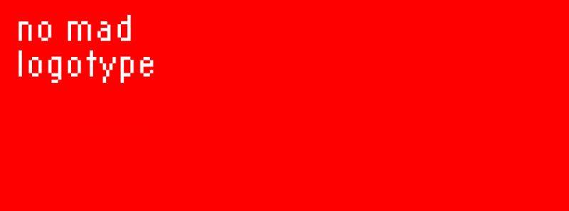 NO MAD Paper English logo