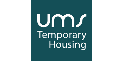 UMS Temporary Housing English logo
